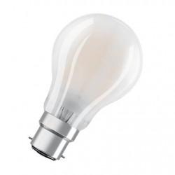 OSRAM LED FIL CLA40 Dépolie 827 B22 4W 470lm Verre